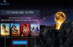 Cách kích hoạt gói xem phim Galaxy Play trên tivi Samsung