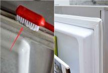 Cách vệ sinh tủ lạnh bị mốc