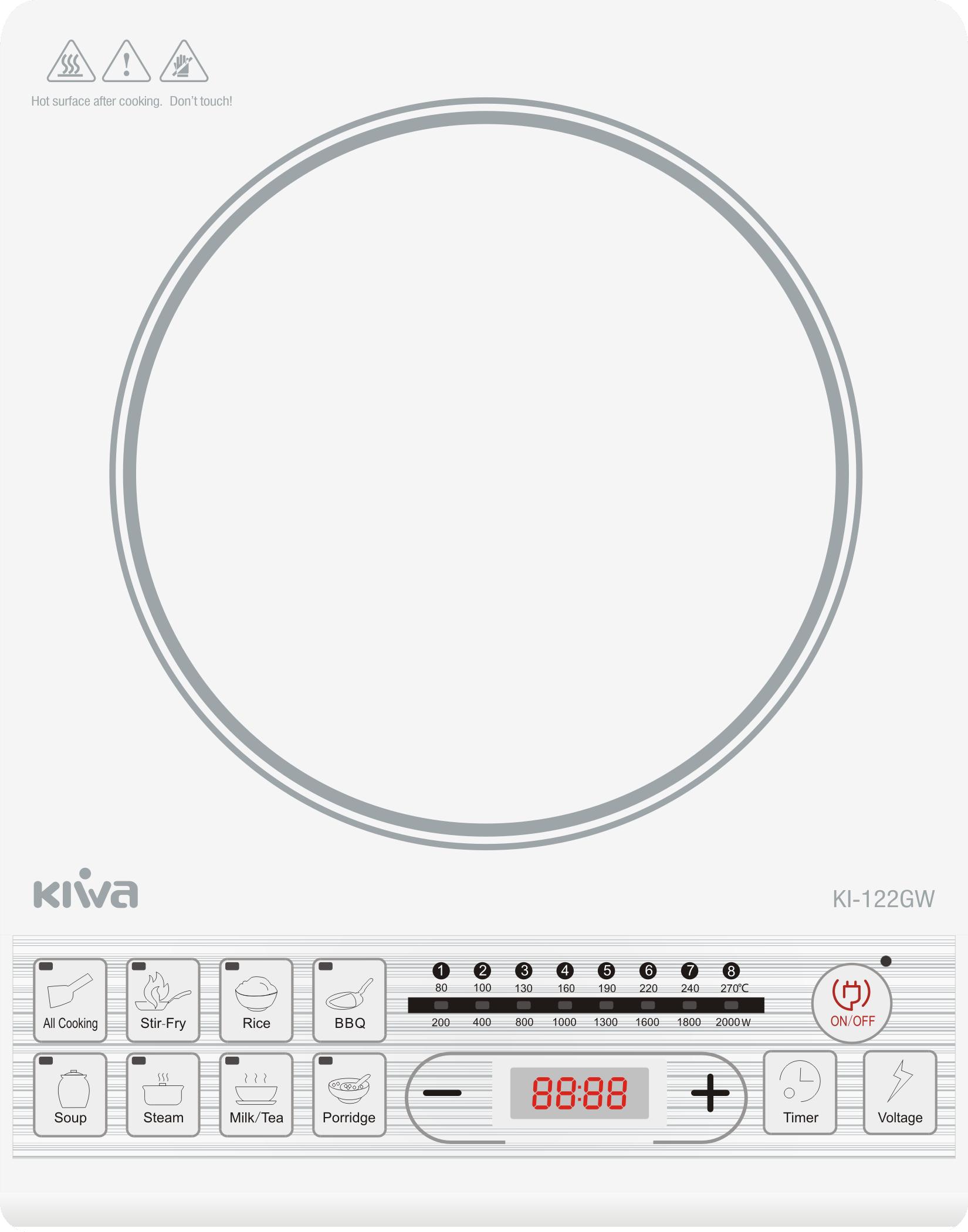 Bếp điện từ KIWA KI-122GW