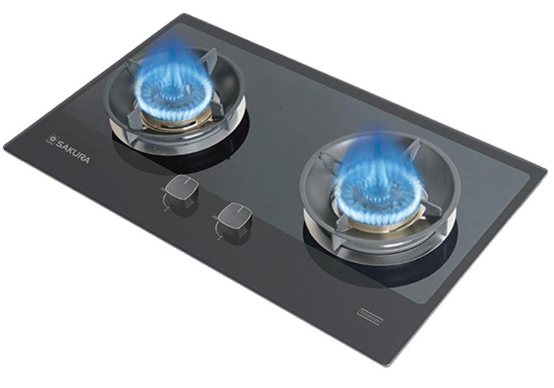 Bếp gas âm SAKURA SG-2668GB
