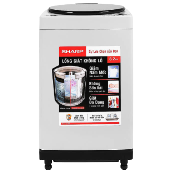 Máy giặt SHARP ES-W82GV-H