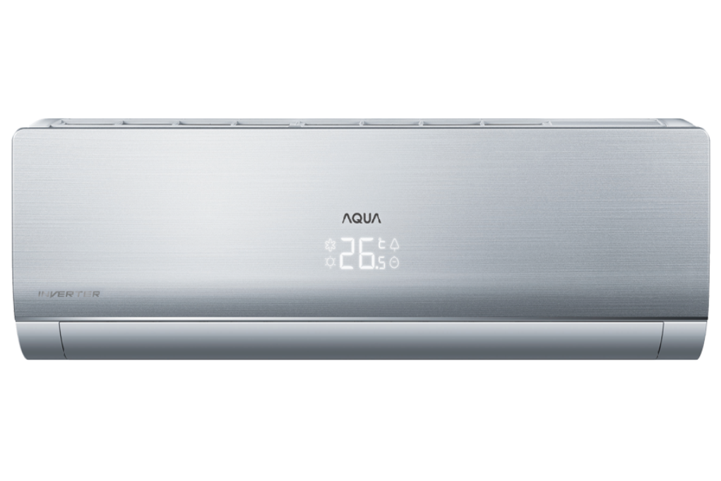 Máy lạnh AQUA Inverter 1.0 HP AQA-KCRV9N-W