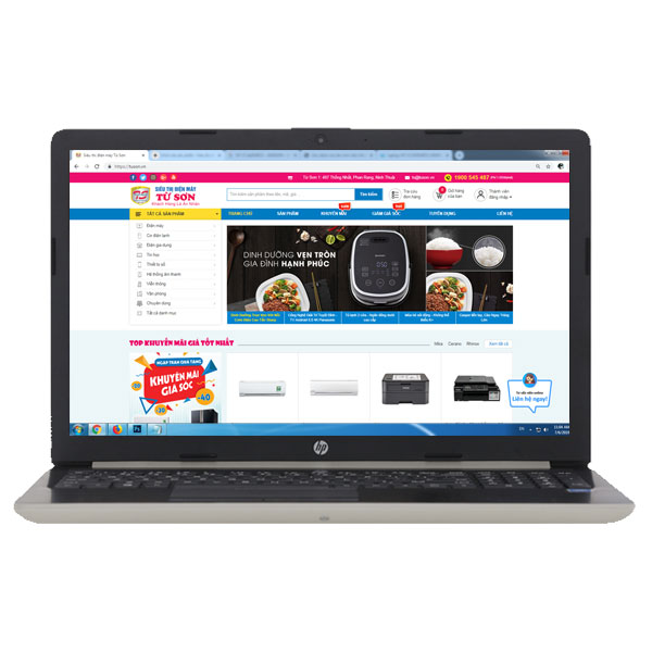 Laptop HP 15 da0048TU - 4ME63PA