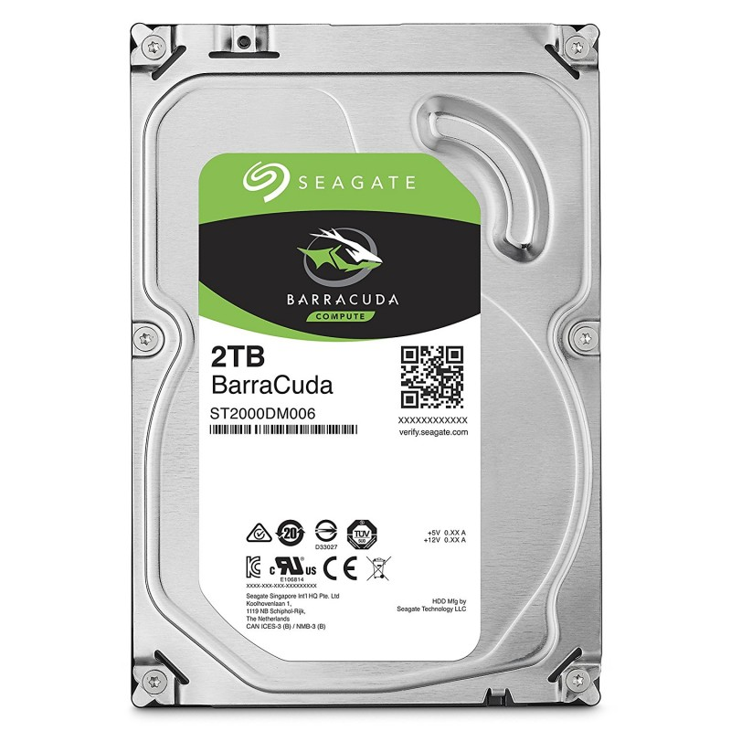 HDD SEAGATE 2TB BarraCuda ST2000DM006