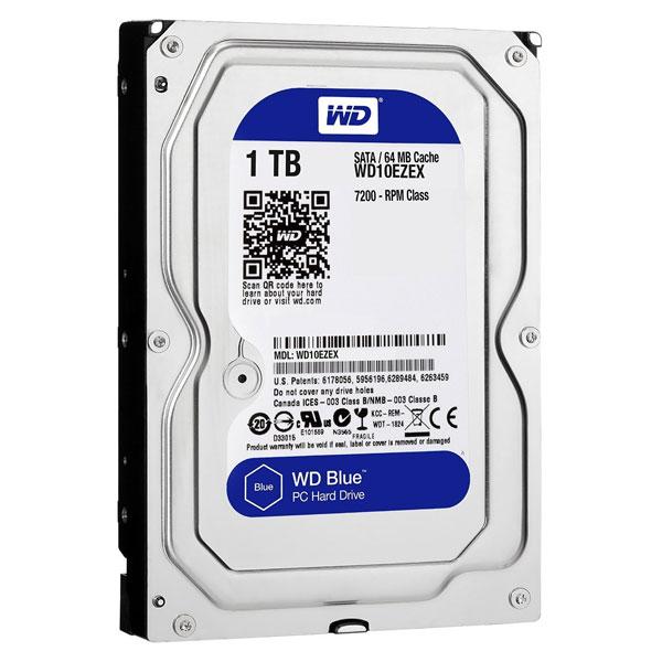 Ổ cứng HDD WESTERN 1TB WD10EZEX