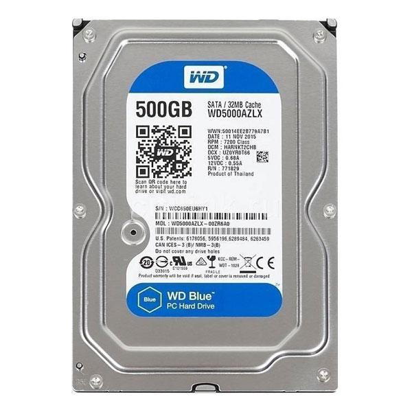 Ổ cứng HDD WESTERN 500GB WD5000AZLX