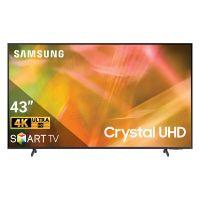 Smart TV SAMSUNG 4K Crystal UHD 43 inch UA43AU8000KXXV