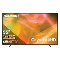 Smart TV SAMSUNG 4K Crystal UHD 55 inch UA55AU8000KXXV