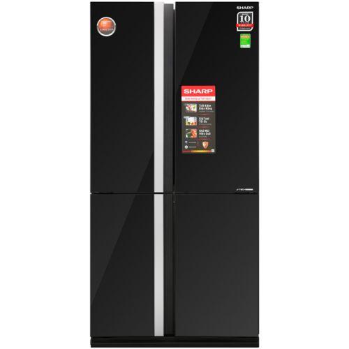 Tủ lạnh SHARP SJ-FX688VG-BK