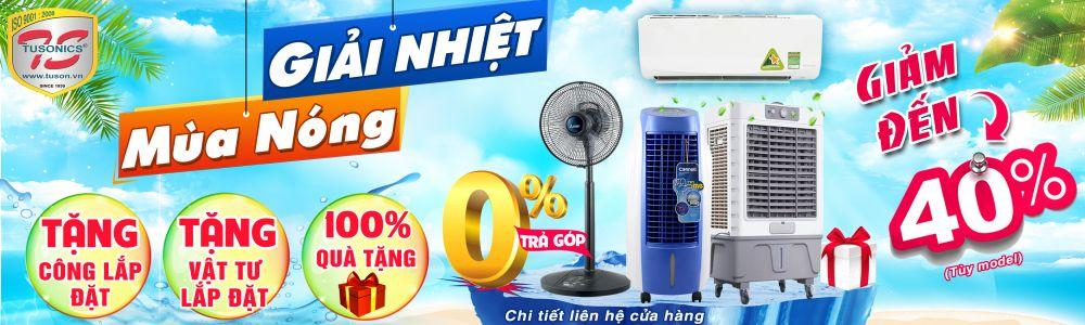 Giải nhiệt mùa nóng