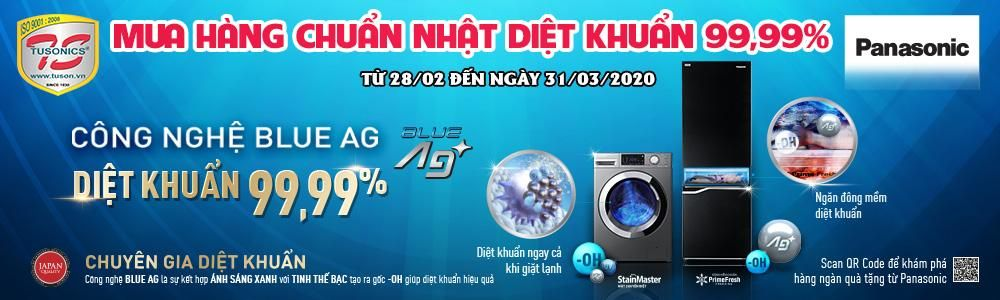 Cùng Panasonic diệt khuẩn tới 99.99% bảo vệ sức khỏe gia đình