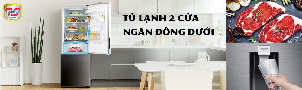 Tủ lạnh 2 cửa - Ngăn đông dưới cao cấp
