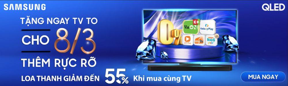 Tặng Ngay TV To Cho 8.3 Thêm Rực Rỡ